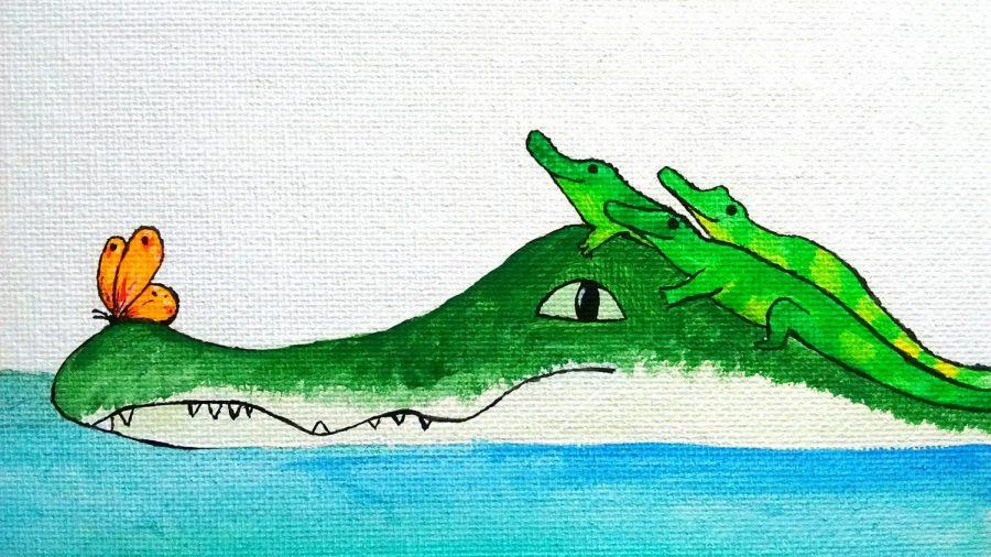 Mama Alligator