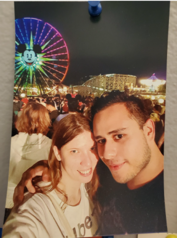 New Counselor Stephanie Bailey enjoys her time at Disneyland, which she has visited over 50 times.