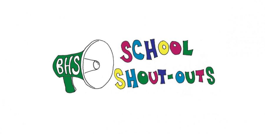 School Shout-outs