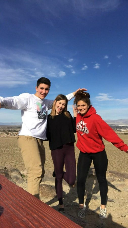 Junior Natalie Marie Bowen likes to do hiking with her friends